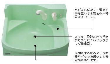 クリナップ 洗面化粧台 ファンシオ ペンタム樹脂